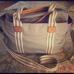 Diaper bag(used once) from pottery barn